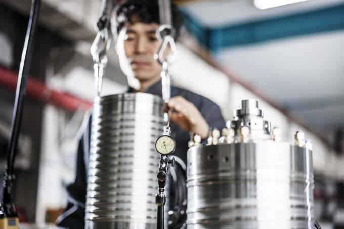 Hwacheon's own spindle production