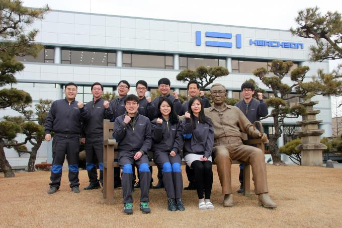 Working at Hwacheon