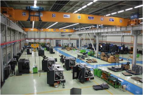 Machine tool production (assembly)