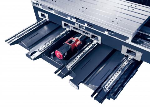 VESTA-2000 - Linear guide ways in all axis