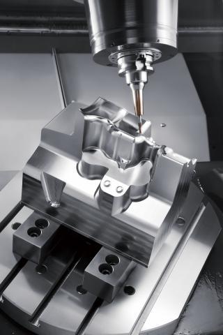 M2-5AX - HSC machining