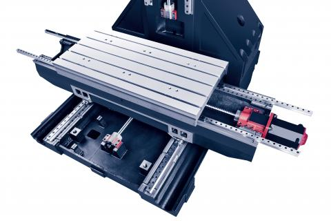 VESTA-1300 - Linear guide ways in all axis