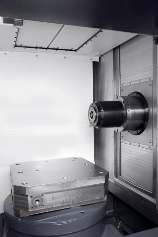 A600 - Work cabine and spindle