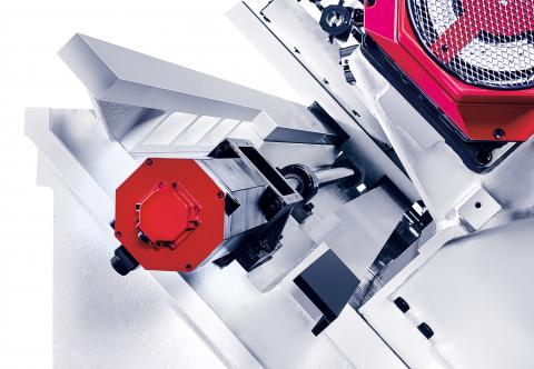 Hi-TECH 700 - Gear spindle