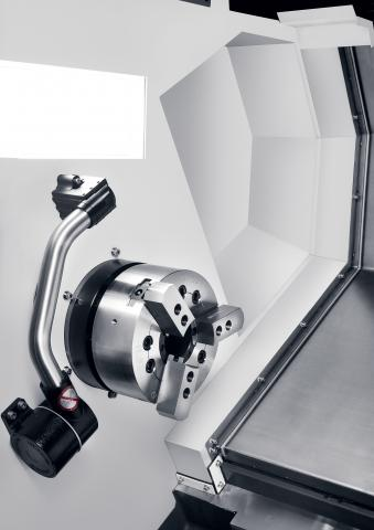 Hi-TECH 850 - Chuck, Tool presetter, indention for long tools