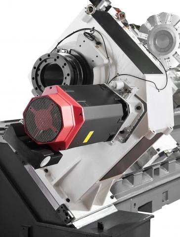 Hi-TECH 850 - Gear spindle for high torque