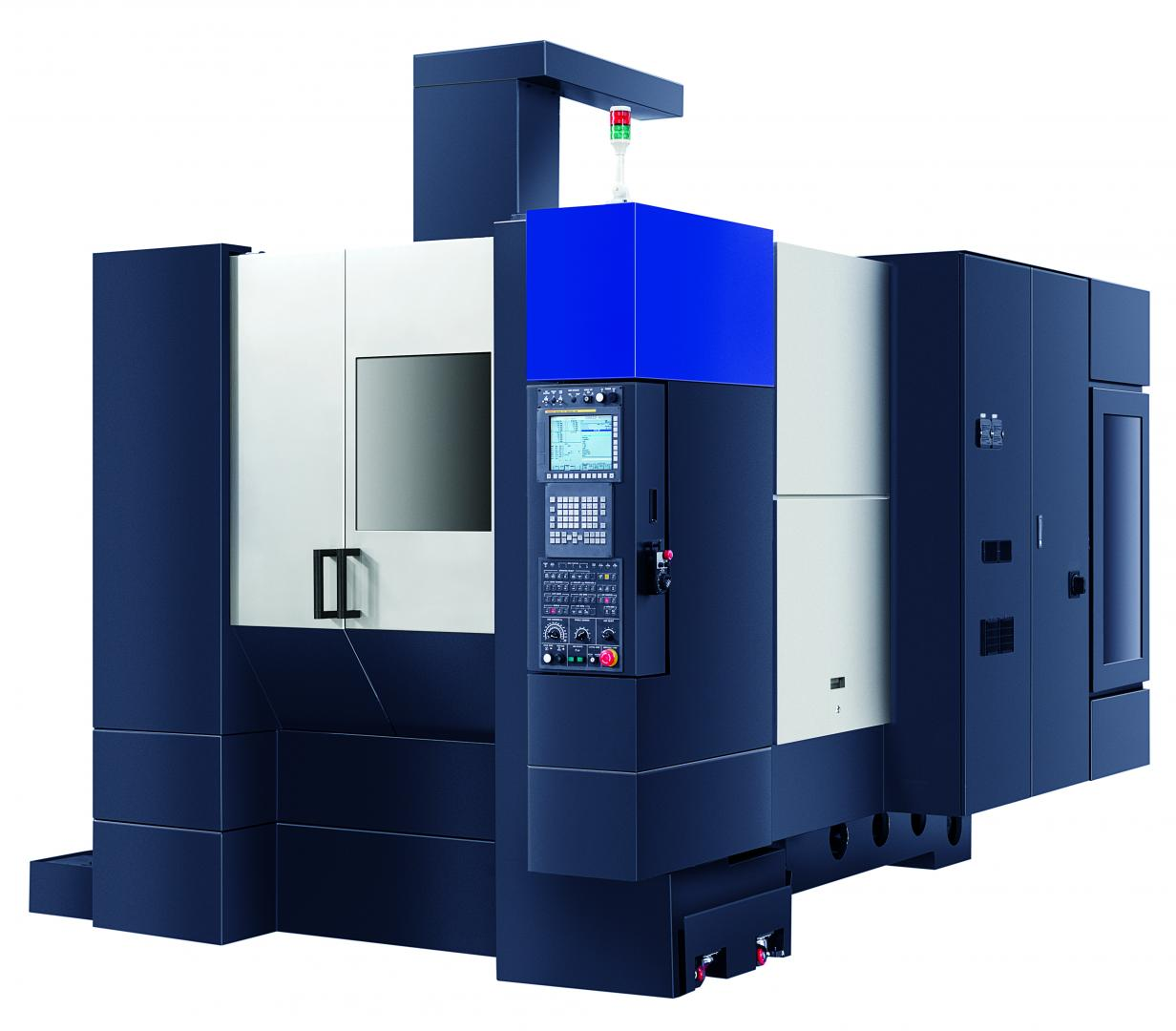 M2-5AX - 5-axis machining centre with Ø500 mm rotary table