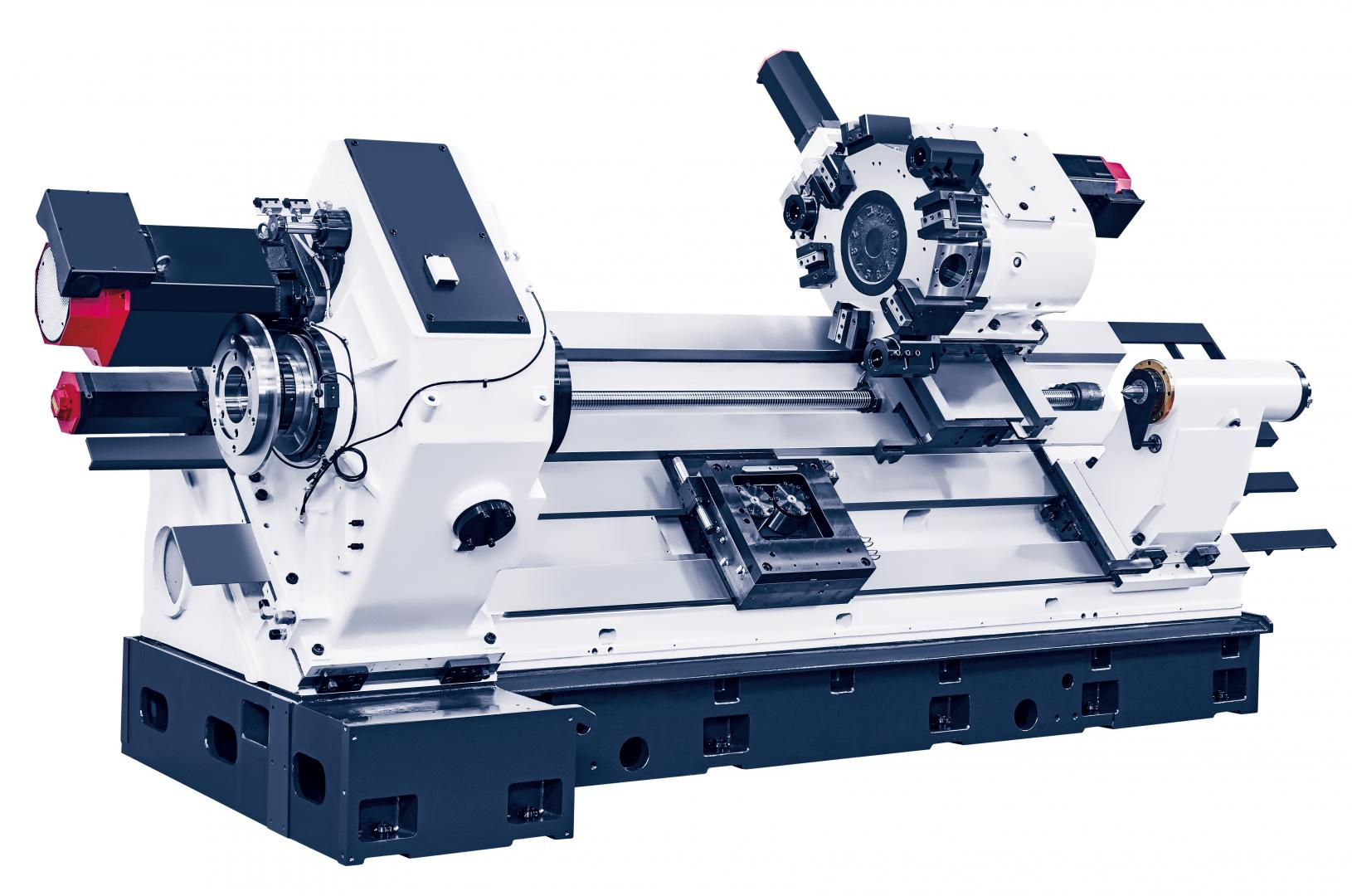 Hi-TECH 700 - Horizontal lathe with box guideways for Ø600 mm chucks