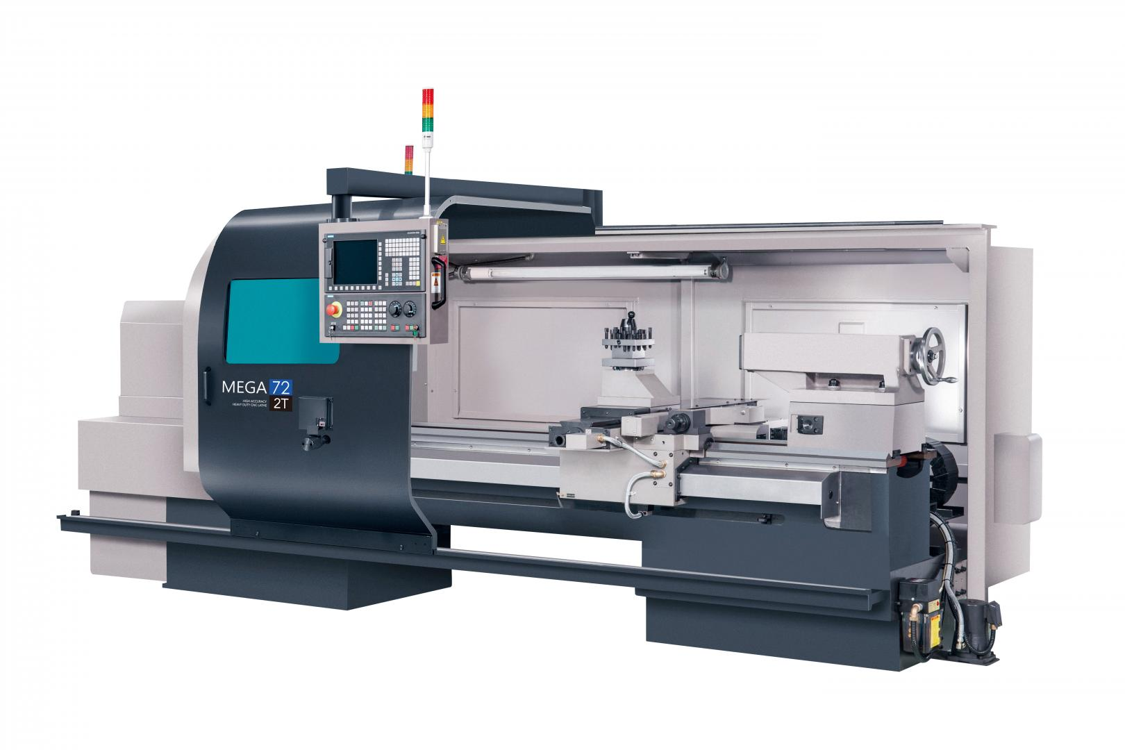 MEGA-72 - Flat bed lathe with a swing diameter of Ø720 mm (cycle