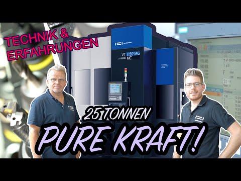 25 Tonnen pure Kraft - Das ist unsere VT1150 mit Magazin bei der Fa. Graf (Teil 2/2)